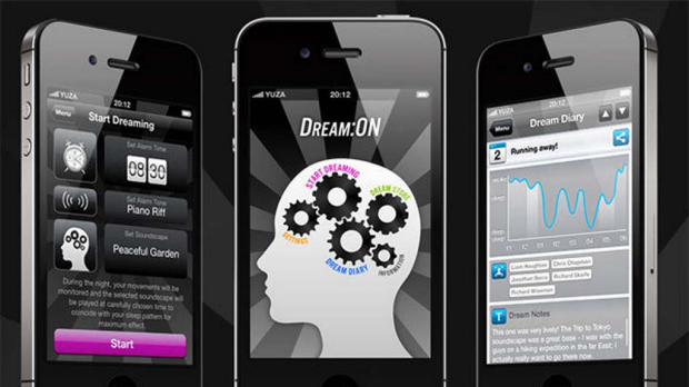 The Dream:ON app, released this week, is part of an experiment to see whether soundscapes can influence your dreams.