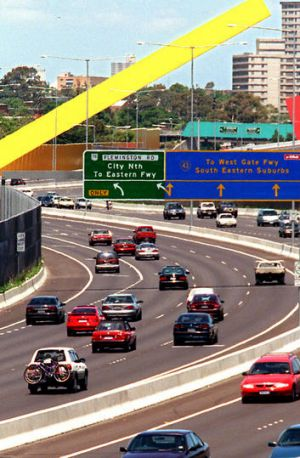 Transurban owns Melbourne's CityLink, Sydney's Lane Cove Tunnel and M2.