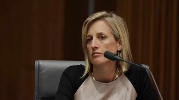 ACT Chief Minister Katy Gallagher during COAG.