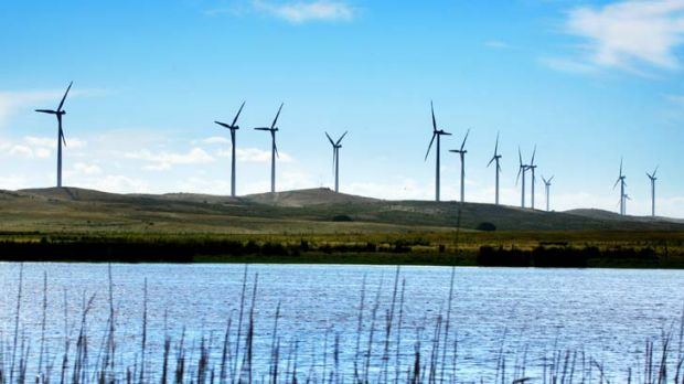 Withdrawn ... the state government will no longer support clean energy schemes and is urging the federal government to ...