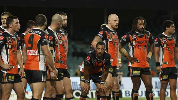 Wrong momentum … the Tigers, with five losses from six matches, must arrest their form slide.