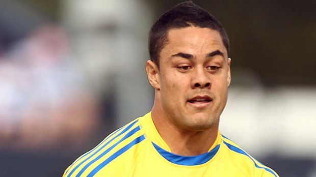 Jarryd Hayne ... scored twice but finished on the losing side.