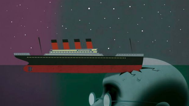 Titanic's fateful final hours.