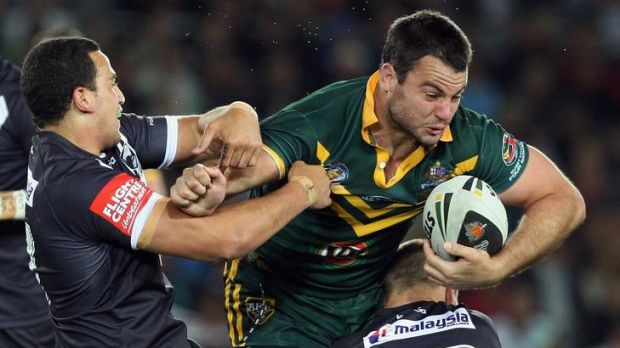 Canberra Raider David Shillington will start at prop for Australia in the Anzac Test against New Zealand on Friday night.
