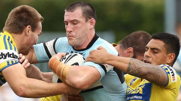 Hoping to play ... Paul Gallen