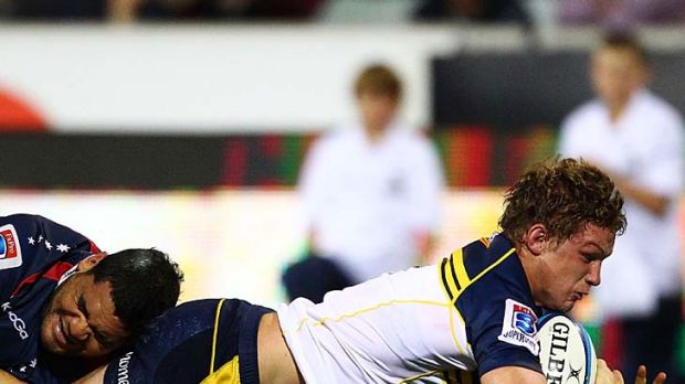 A revelation ... Michael Hooper of the Brumbies.
