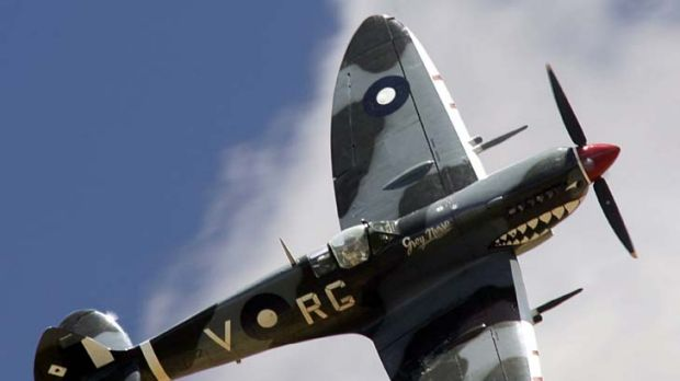 Spitfire … few can fly today.