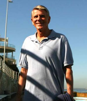 """Part of the swimming DNA in this country"" ... Murray Rose at North Bondi in 2008."