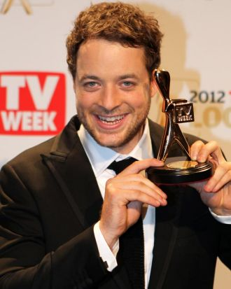 Hamish Blake won the Gold Logie.