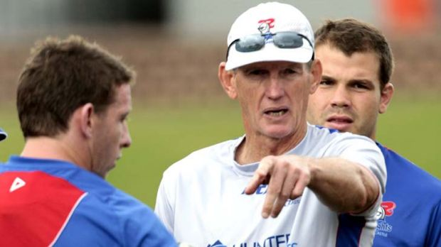 Pointing the finger ... Jock Colley lays blame on Wayne Bennett for the omission of Country hooker Danny Buderus.