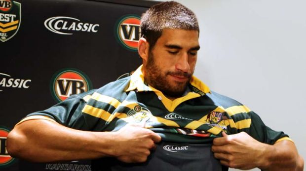 Once was a Kiwi now a Kangaroo ... James Tamou.