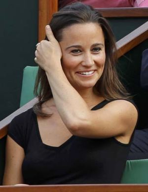 Paris problems ... Pippa Middleton has been accused of pointing a gun at a photographer.