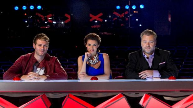 New series ... <em>Australia's Got Talent</em> judges Brian McFadden, Dannii Minogue and Kyle Sandilands.