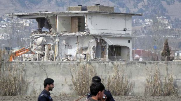 Hiding place ... the house where al-Qaeda leader Osama bin Laden was killed and his family captured in Abbottabad. His ...