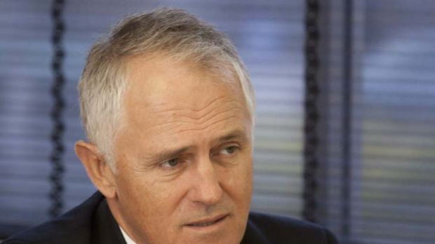 Malcom Turnbull ... wamts to defer expensive NBN commitments.