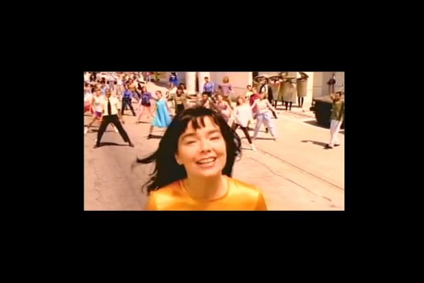 1996: <i>It's Oh So Quiet</i>, Bjork.