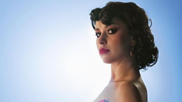 Young talent time … Kimbra Johnson, now all of 22, has been writing songs since the age of 10.