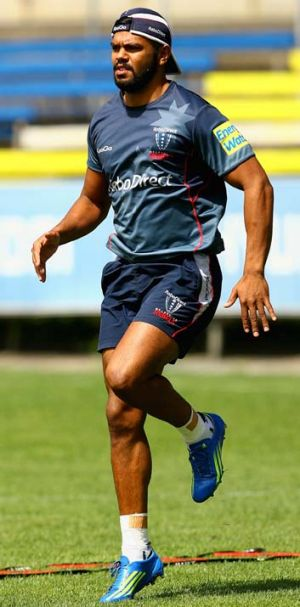 """I'm very, very excited to be going back to Sydney"" ... Kurtley Beale."