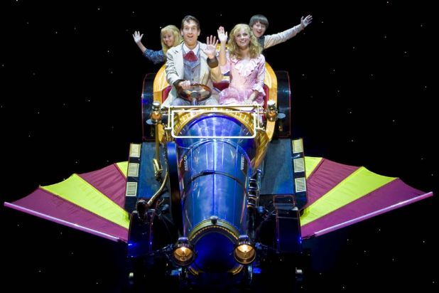 'Chitty Chitty Bang Bang' plays at the Capitol Theatre in Sydney from late 2012.