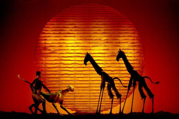 'The Lion King' plays again at the Capitol Theatre in Sydney from December 2013.