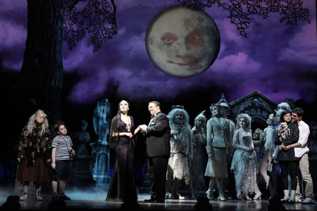 The Broadway production of 'The Addams Family', which plays at the Capitol Theatre in Sydney from March 2013.