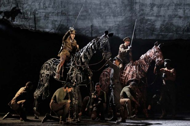 The Broadway production of 'War Horse', which plays at the Arts Centre, State Theatre in Melbourne from December.