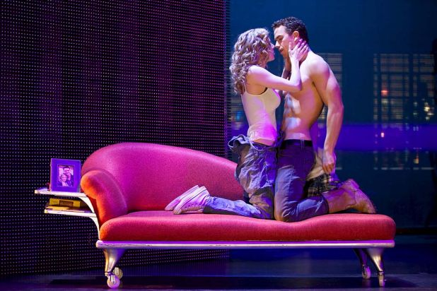 'Ghost the Musical' plays at Her Majesty's Theatre in Melbourne from August 2013.