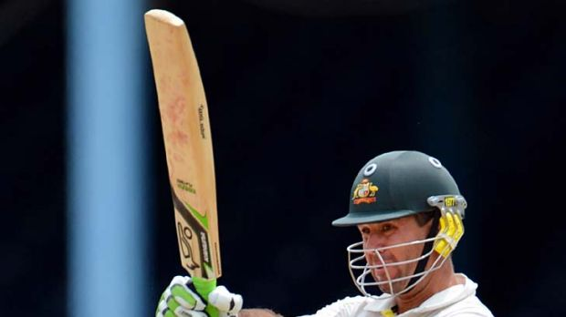 Ricky Ponting will be looking for quick runs when he resumes his innings on day five.