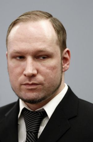 Planned to use an iPhone to film execution ... Anders Behring Breivik in court last night.