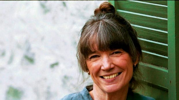 Anne Tyler, pictured in 2001, is happiest when she is working.