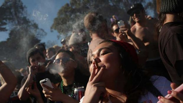 Talk in the twitterverse was less of Kony 2012's day of action, more of the day chosen by US marijuana smokers to ...