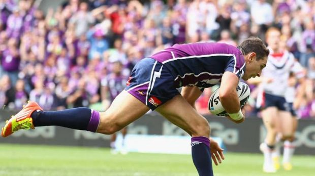 Try scoring supremo ... Billy Slater.