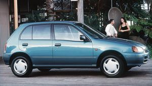 $16,990 Toyota Starlet Style in 1996.
