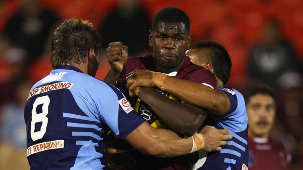 Raiders junior Edrick Lee was one of the Queensland under-20s best on Saturday night.