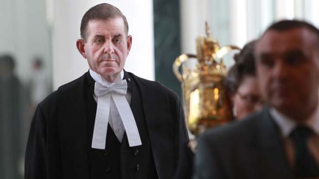 """Peter Slipper ... """"The sexual harassment claims against Slipper are a civil claim."""""""