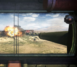 The inside of a tank can be claustrophobic.
