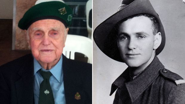 Norm Phillips was 21 when he joined the war effort.