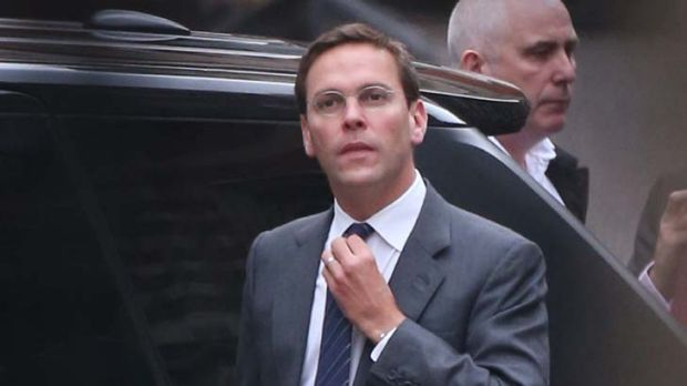 James Murdoch has been criticised by Britain's broadcasting regulator.