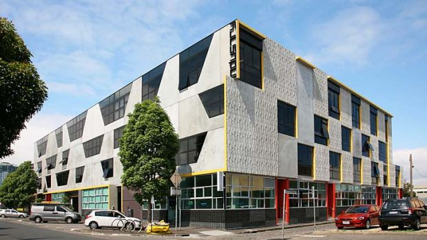 The South Melbourne development offers a range of studio sizes.