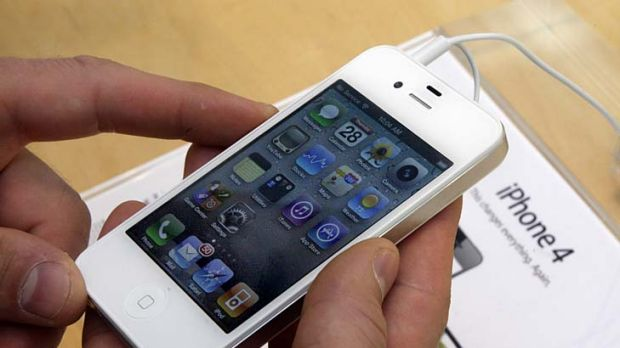Expectations rising ... Apple is preparing to announce a successor to the iPhone 4, and the company's share price is ...