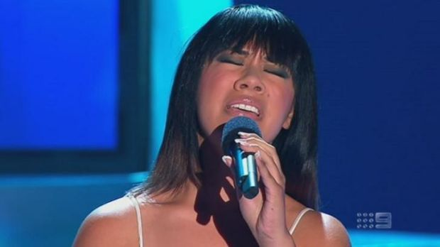 One of the winners from last night's The Voice battle round, which was itself a champion.
