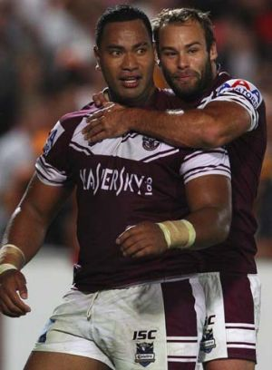 A rested T-rex ... Tony Williams is in line to face the Maroons in Origin I despite a lack of game time due to suspension.