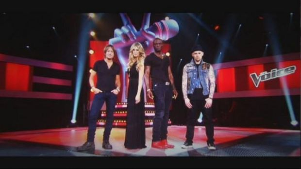 The Voice ... it's now down to the judges to mentor the singers who got through the blind auditions.