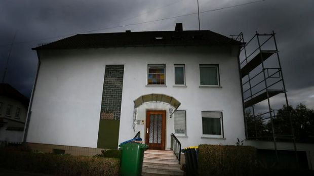 Police found the bodies of three dead babies in this building.