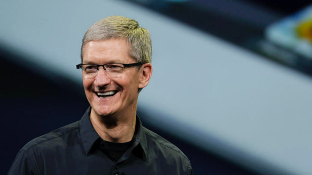 Apple CEO Tim Cook announces the new iPad in San Francisco in March. Cook is revealing a confident and eloquent side as ...