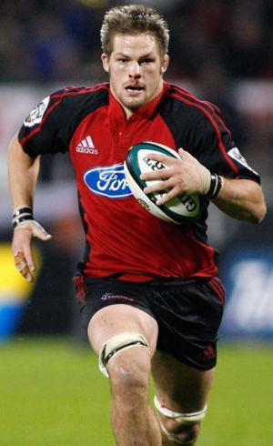Mind games ... Richie McCaw is certain to cause headaches.