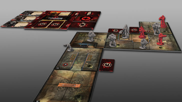 Gears of War: The Board Game is remarkably true to its source material.