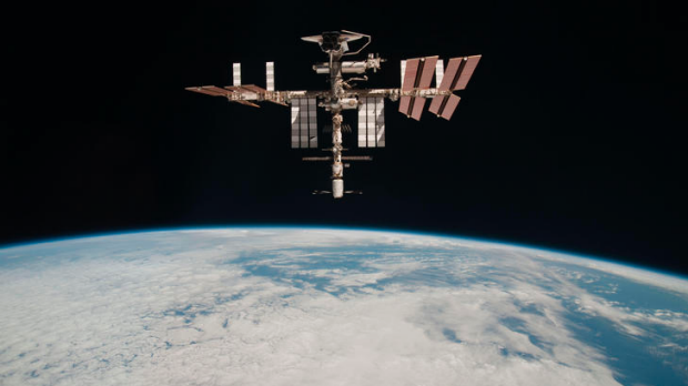 Watching Earth ... from the International Space Station.