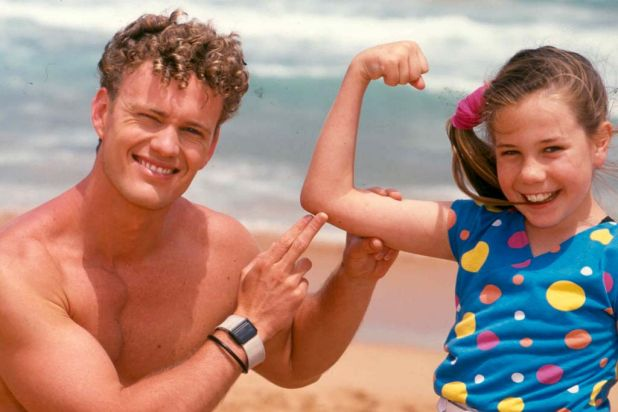 1988: Craig McLaughlin and Kate Ritchie in 'Home and Away', which has gone from strength to strength.
