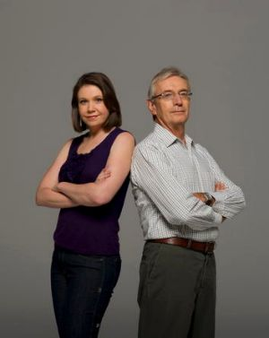 Adversaries ... former senator and Liberal Party backroom operator Nick Minchin and Anna Rose, co-founder of the ...